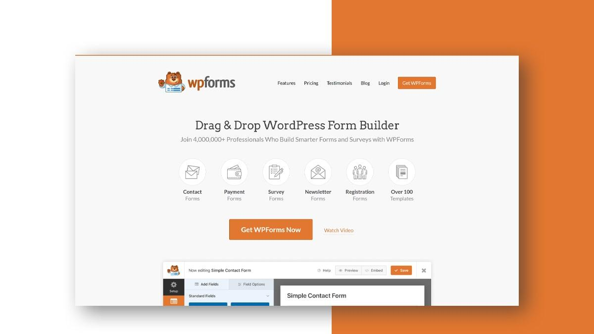 WPForms- 10 WordPress Donation Plugins For Charity, Relief, And Support