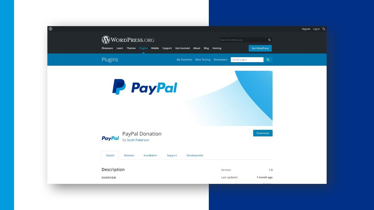 PayPal Donation- 10 WordPress Donation Plugins For Charity, Relief, And Support