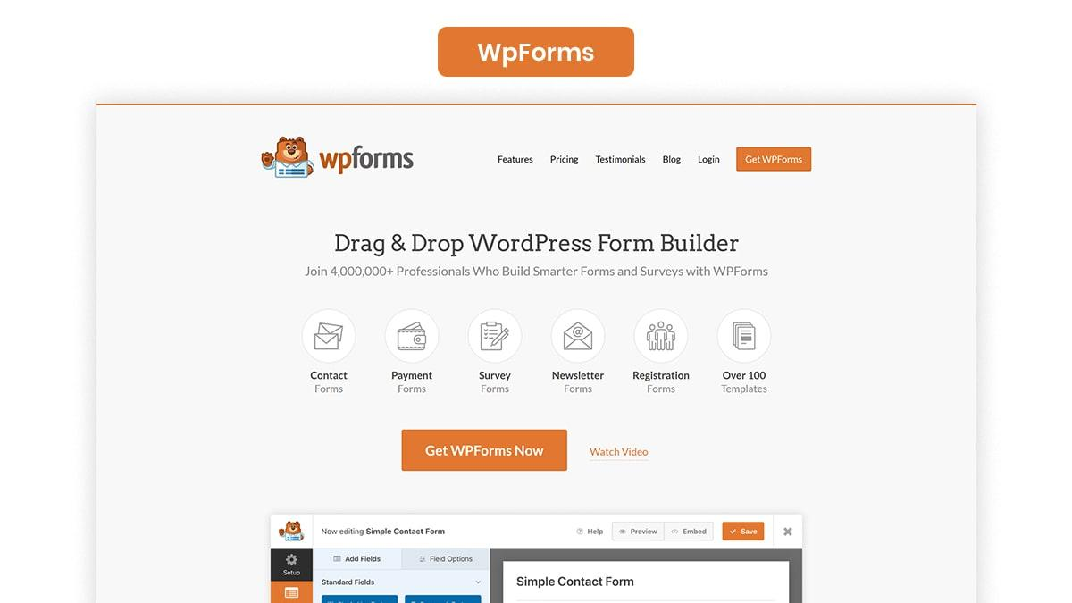 WpForms- 10 Best WordPress Podcast Plugins Available In 2021