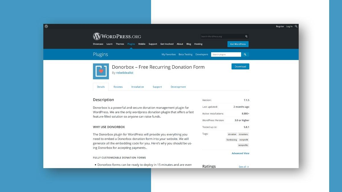 DonorBox- 10 WordPress Donation Plugins For Charity, Relief, And Support