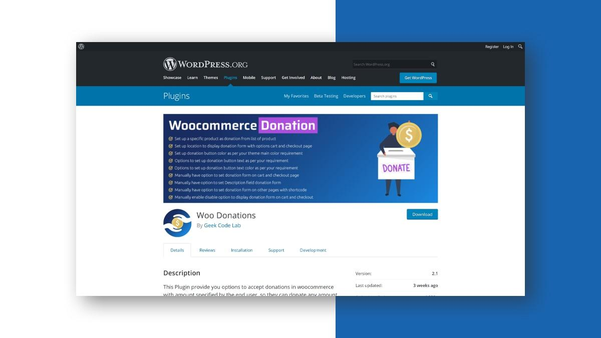 Donation for WooCommerce- 10 WordPress Donation Plugins For Charity, Relief, And Support