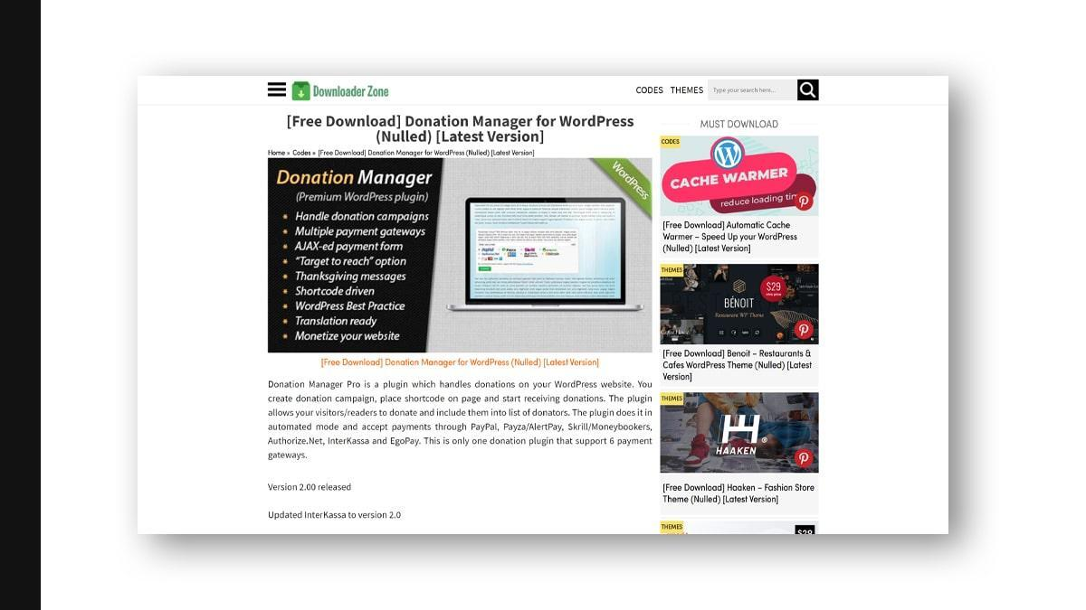 Donation Manager- 10 WordPress Donation Plugins For Charity, Relief, And Support