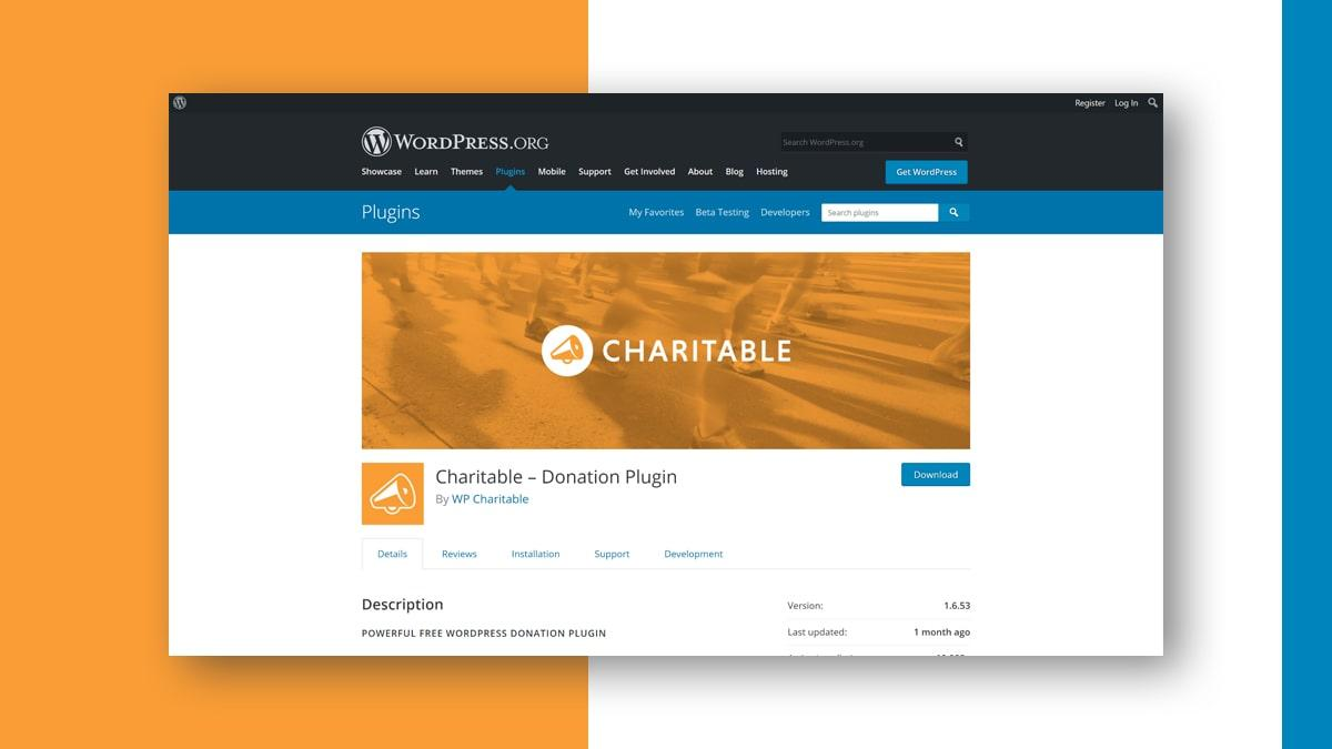 Charitable- 10 WordPress Donation Plugins For Charity, Relief, And Support