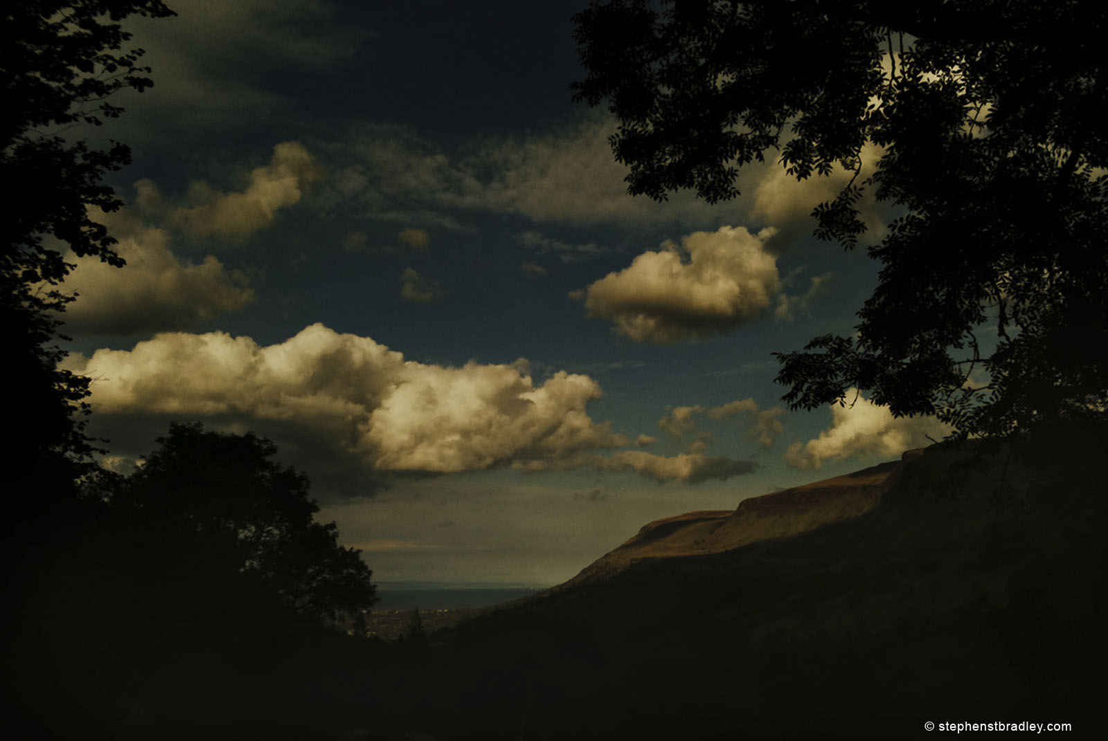 Commercial Photographer Atlanta landscape photo of clouds over Glenariff, Northern Ireland - photo 0305