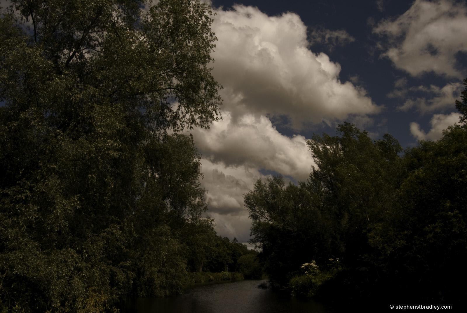 River Lagan Tow Path, Belfast, Northern Ireland. Fine art landscape photograph 2889.