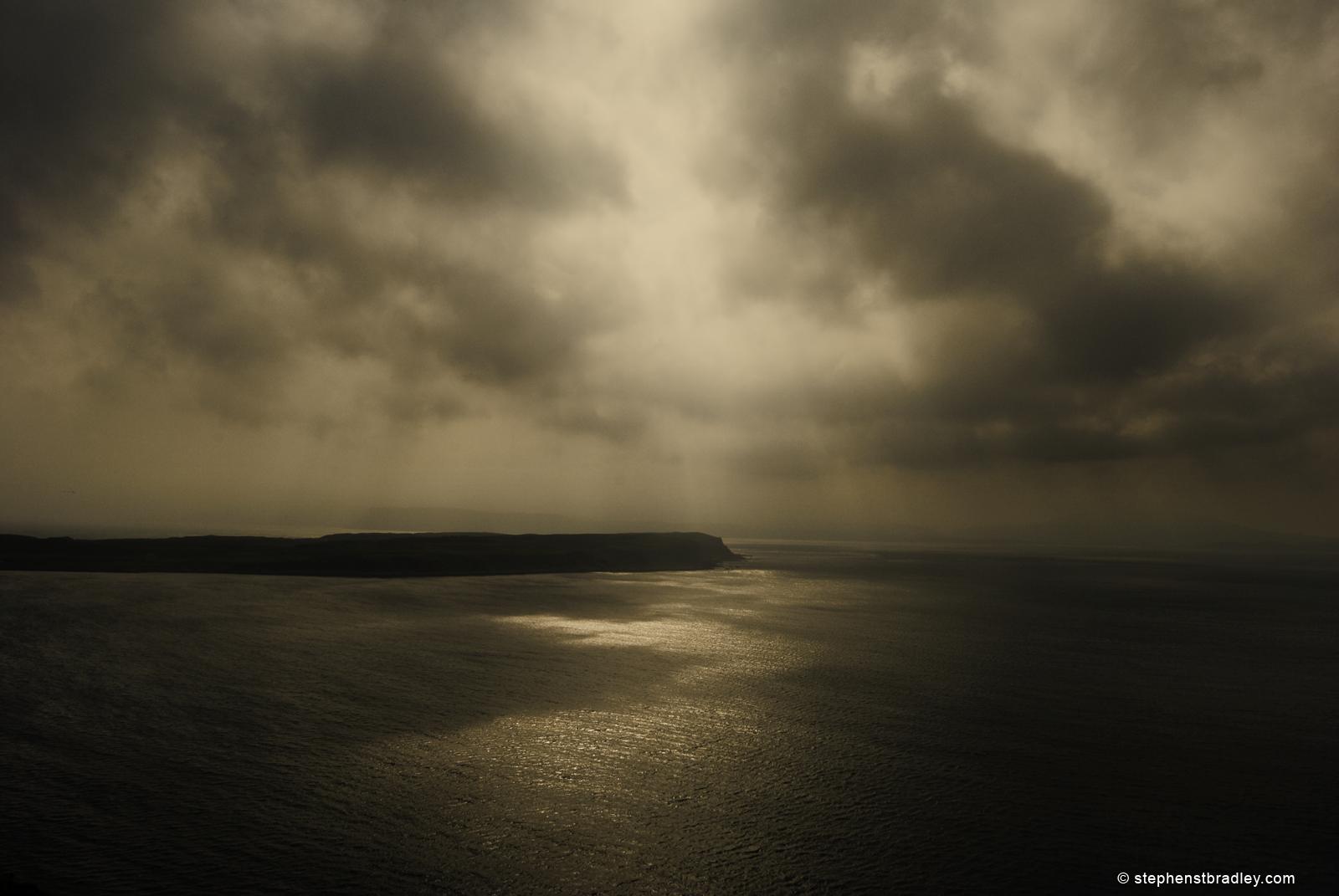 Rathlin Island south peninsula - Landscape photograph of Rathlin Island, Northern Ireland, UK. Image 4337