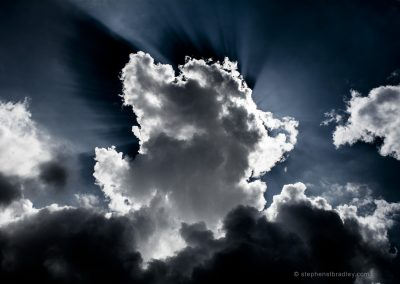 Jesus in the Clouds.
