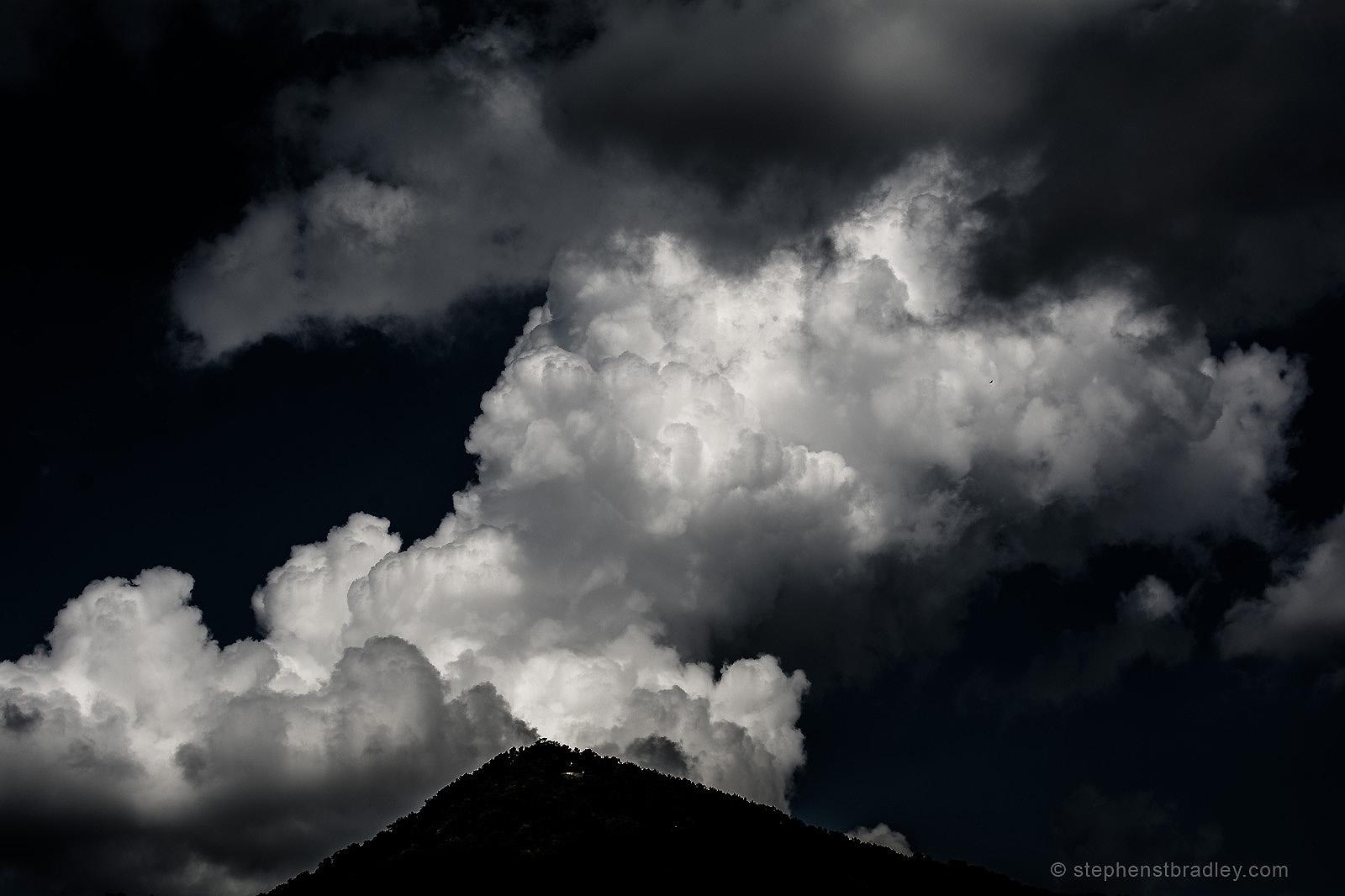 Landscape photograph 1540 -Sharptop Mountain, Pickens County, GA, USA.