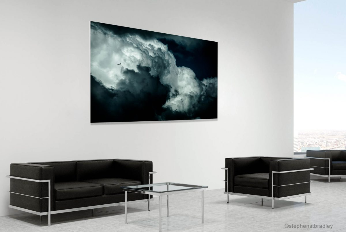 Fine art landscape photograph in a room setting. Photo reference 6400.