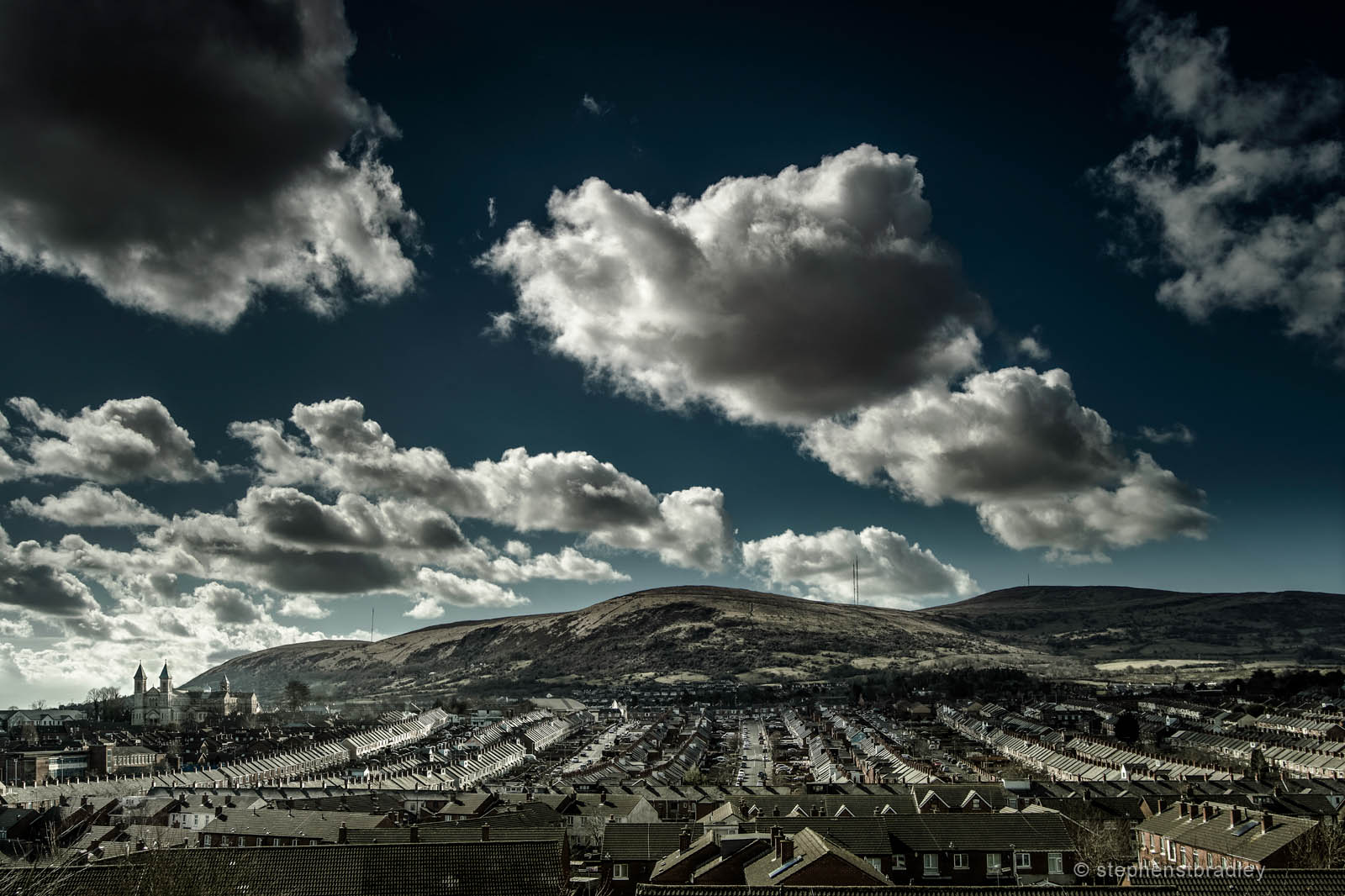 Ardoynescape - fine art landscape photograph 0945 by Stephen S T Bradley