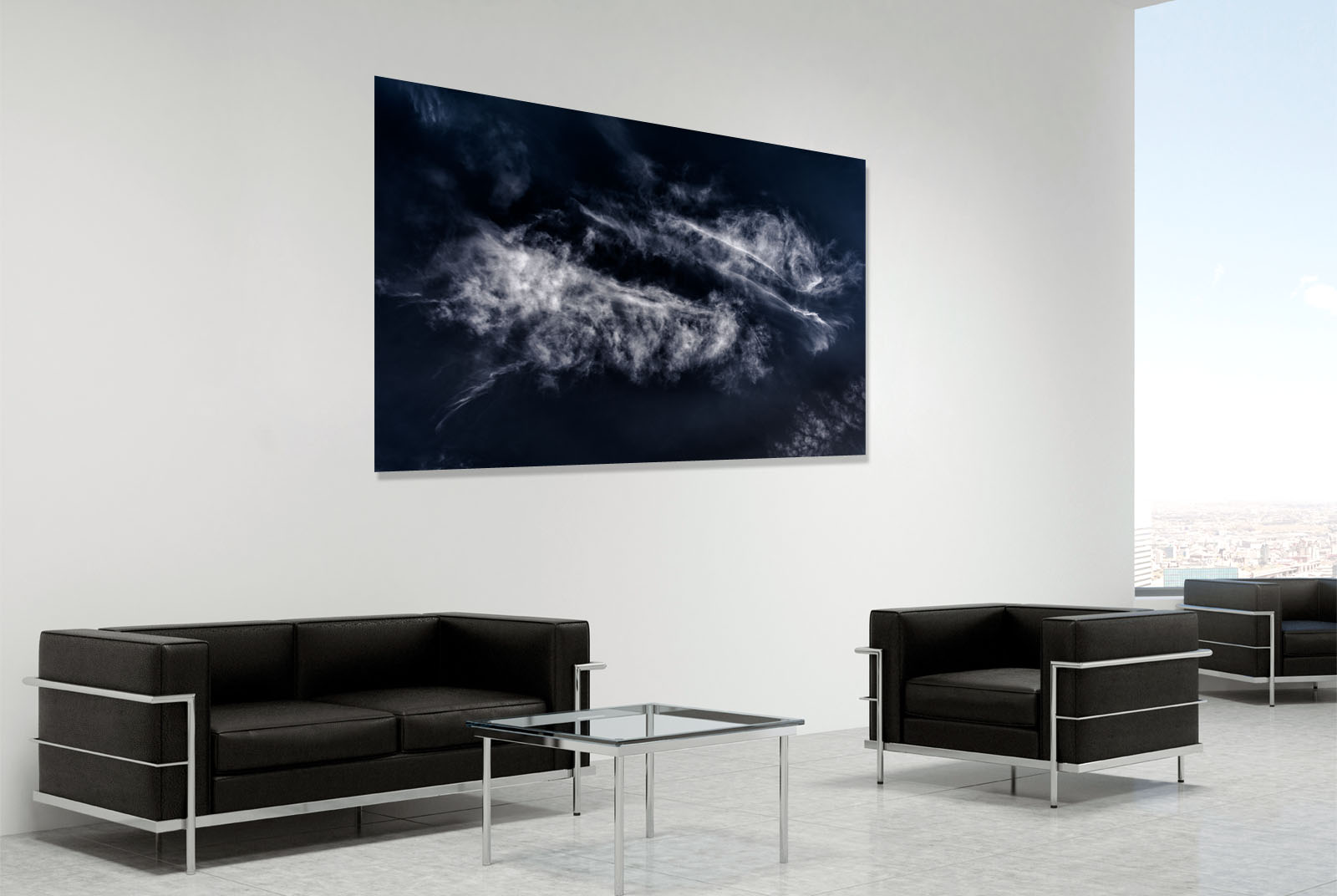 Fine art landscape photograph in a room setting - photo reference 5254.
