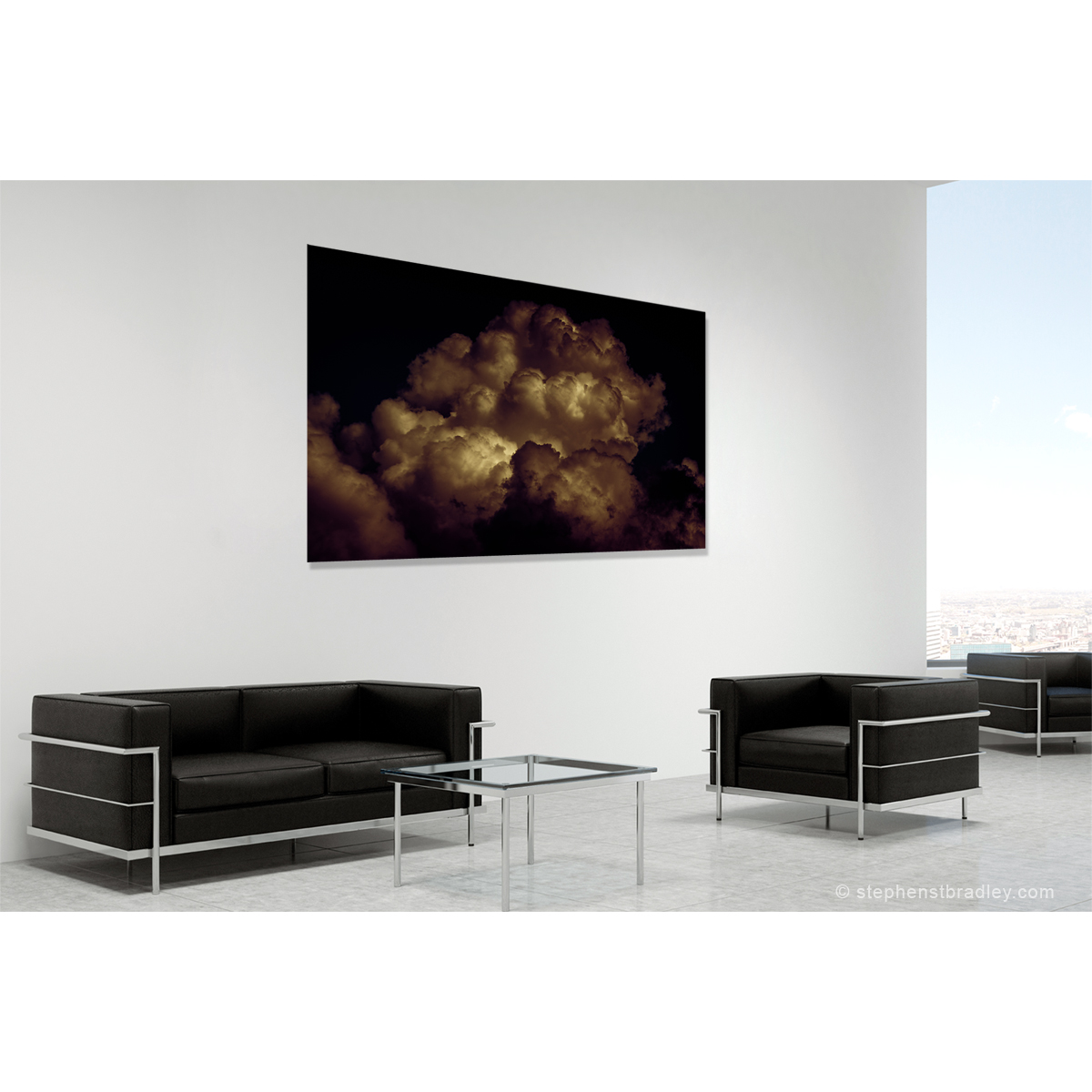 Fine art landscape photograph in a room setting - photo reference 6295.