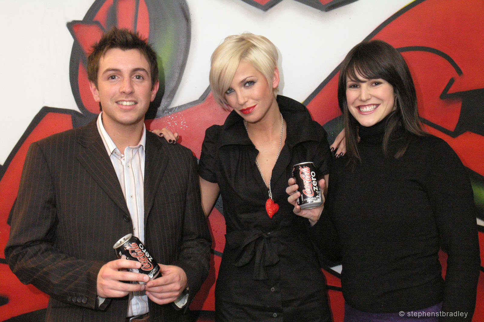PR Photographer Dublin Ireland photo 1014109 - Sarah Harding Girls Aloud promoting Coca Cola Zero for Edelman PR