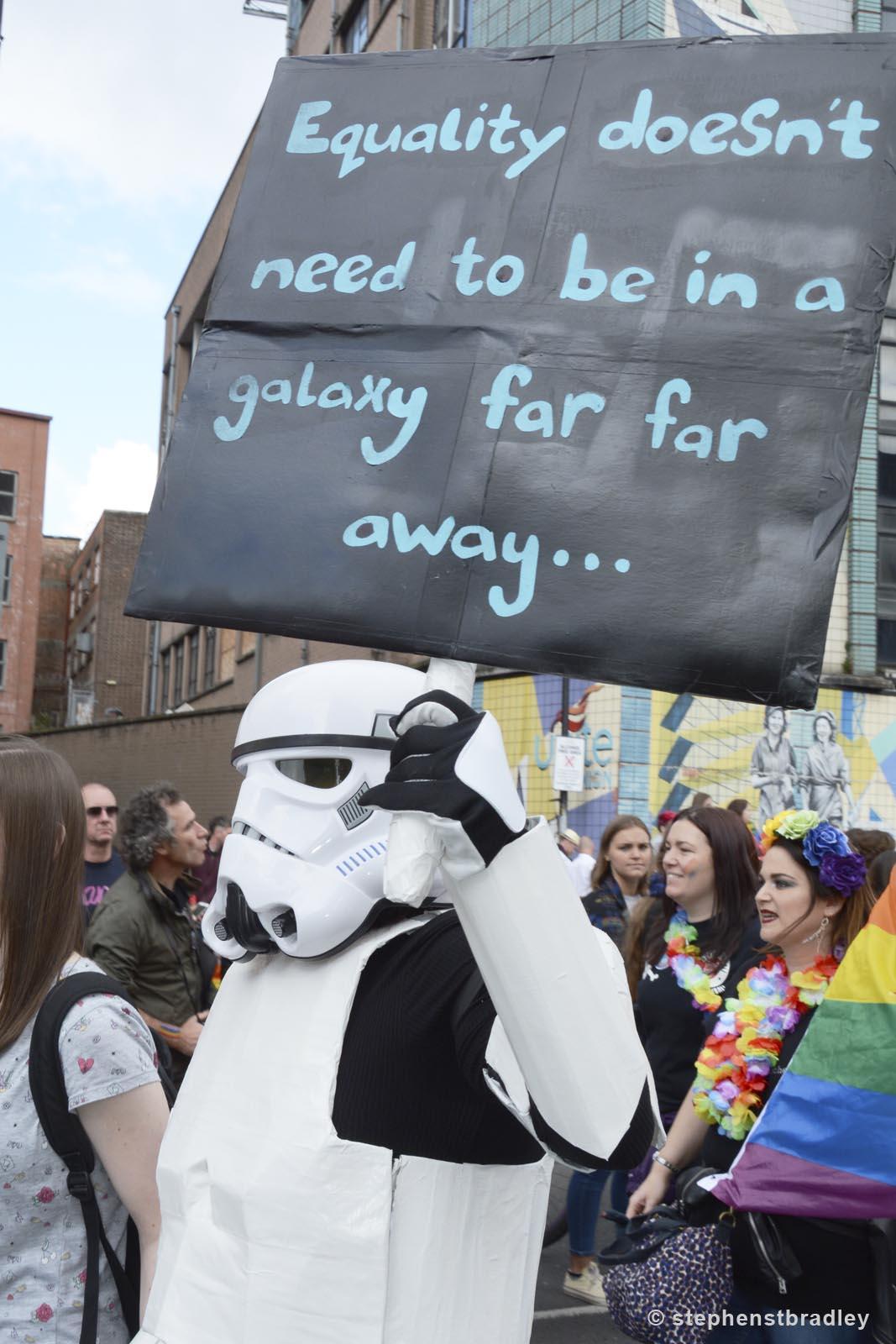 Editorial photographer Dublin portfolio photo 8545 of Belfast Pride Parade by Stephen S T Bradley