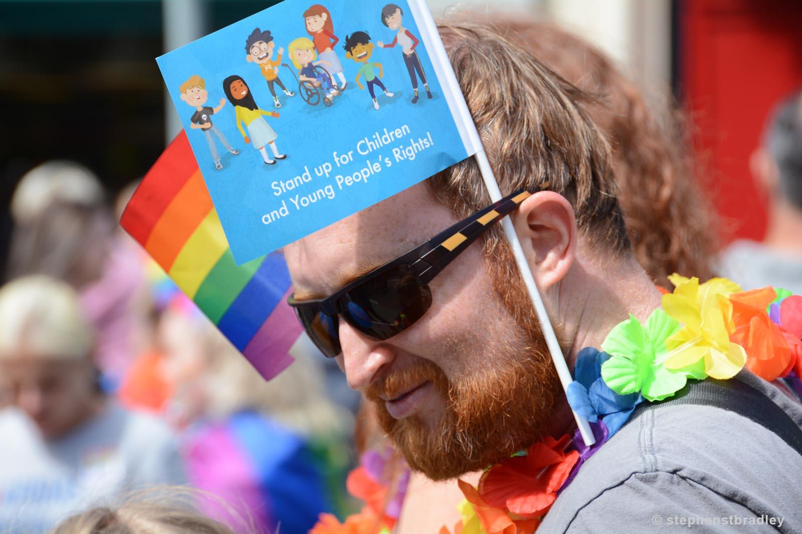 Editorial photographer Dublin portfolio photo 8593 of Belfast Pride Parade by Stephen S T Bradley