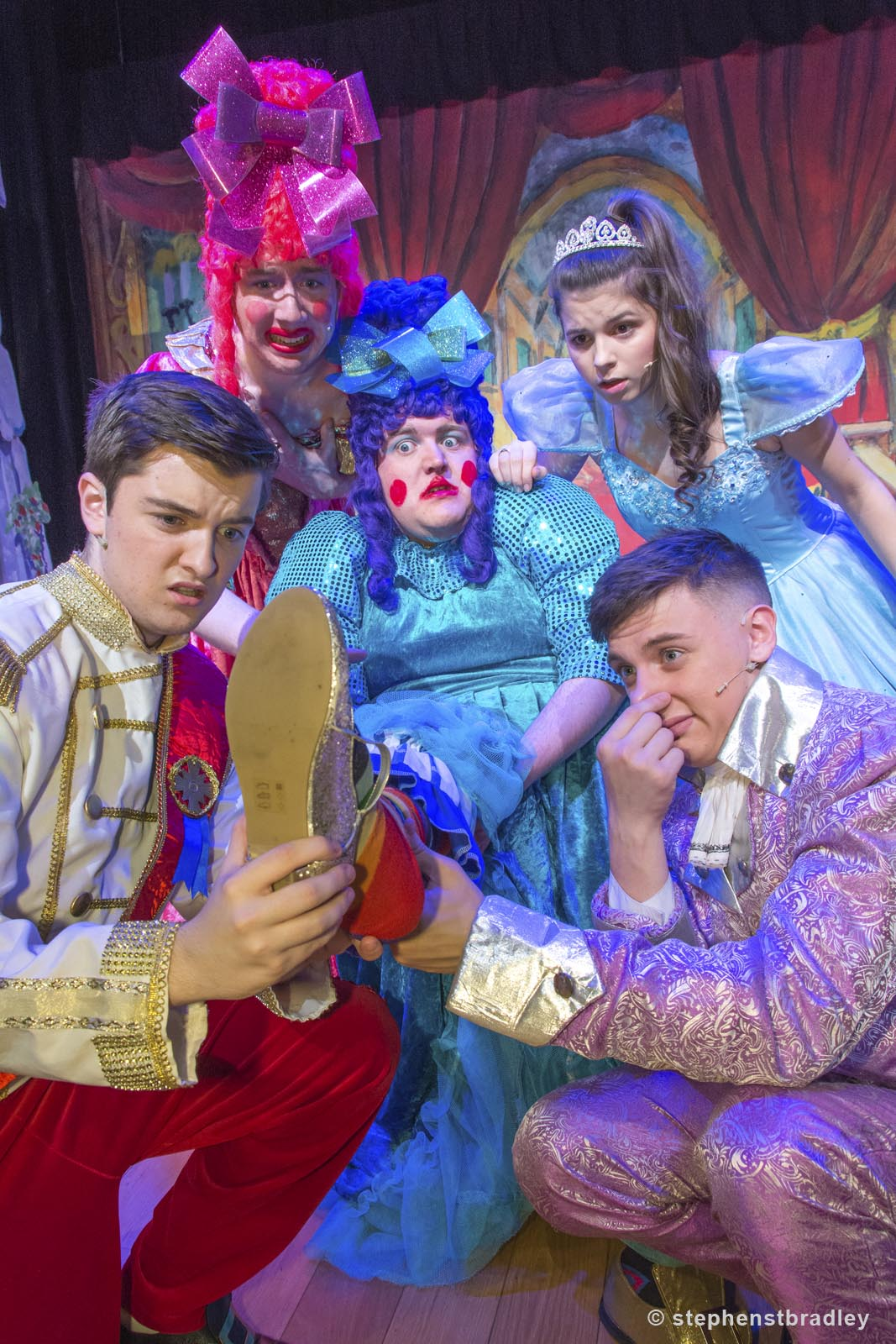 PR Photographer Dublin Ireland portfolio photo of Cinderella Pantomime for Antrim and Newtownabbey Borough Council - photo 9973 by Stephen T Bradley