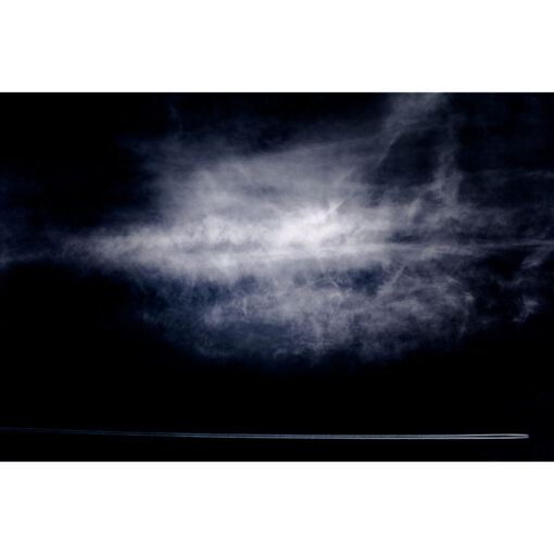 Fellow travellers - a limited edition fine art photo of clouds over Ireland by Stephen S T Bradley reference 4950