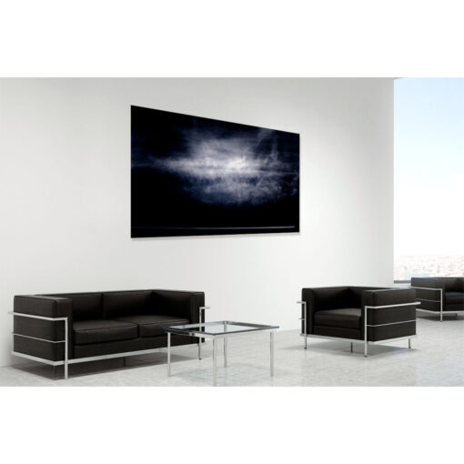 Fellow travellers - a limited edition fine art photo of clouds over Ireland by Stephen S T Bradley reference 4950. Photo in room setting