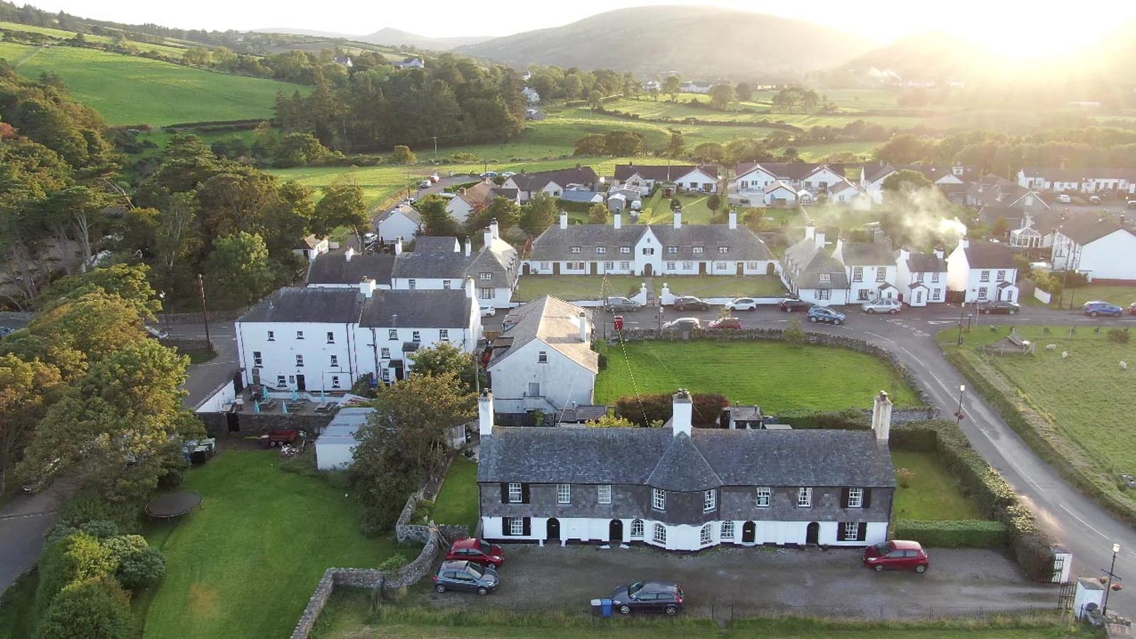 Aerial drone photography and video production services Dublin and Ireland portfolio - screenshot 6 of Glendun to Cushendun video