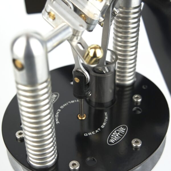 Stove Fan Stirling Engine Top Plate