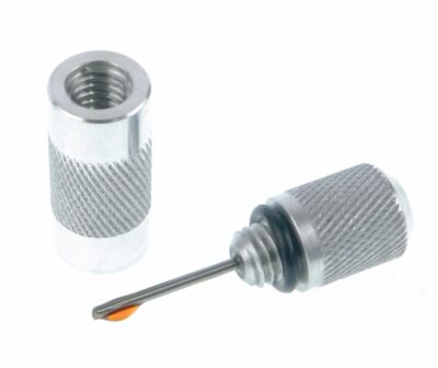 Knurled aluminium applicator with high temperature Stirling engine lubricant