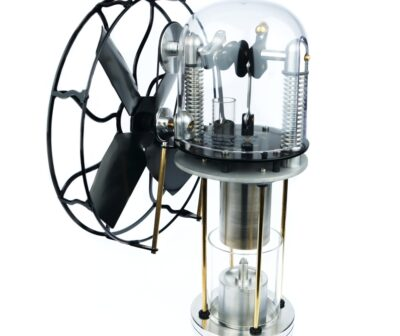 Classic, collectible Stirling engine fans - Warpfive Fans