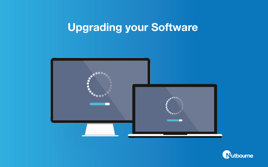 It Solutions East London - Upgrading software