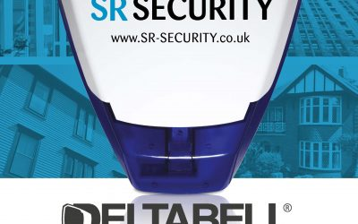 S R Security now installing the Delta Bell Plus, a proven visible & audio deterrent