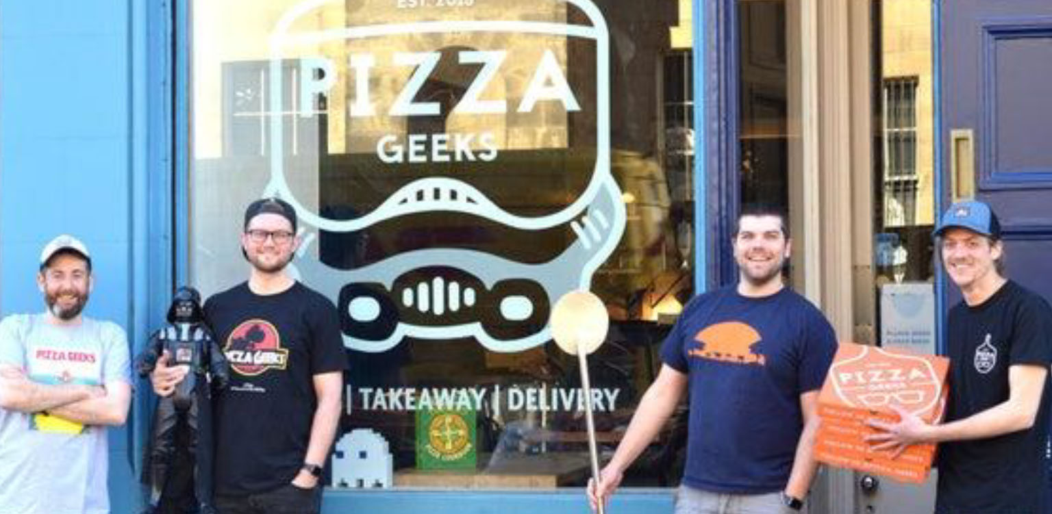 Pizza Geeks  Open Third Location in the City