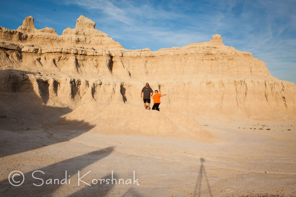 Badlands South Dakota, sandi k photos