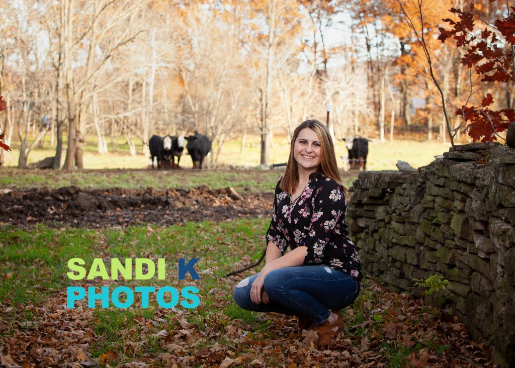 senior photos in the country