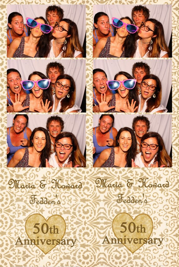 photo booth rental anniversary party