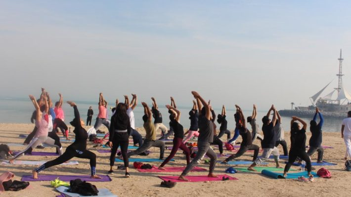Beach Yoga Camp