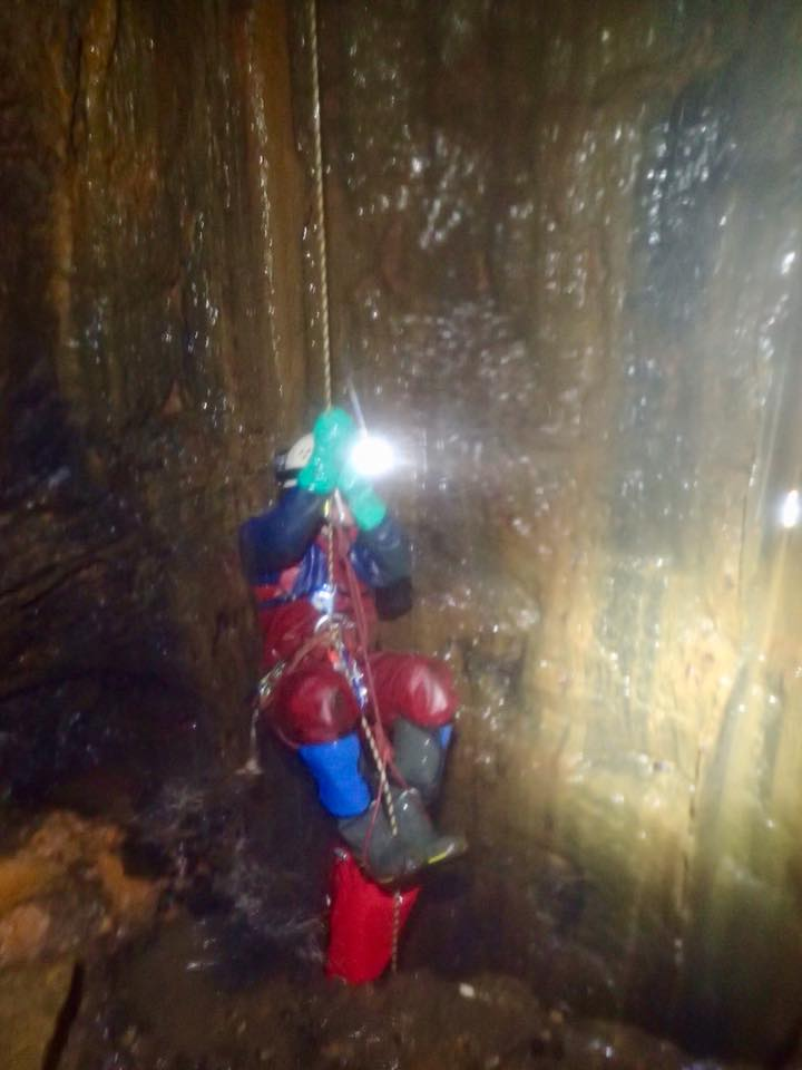 Ascending out of the mine