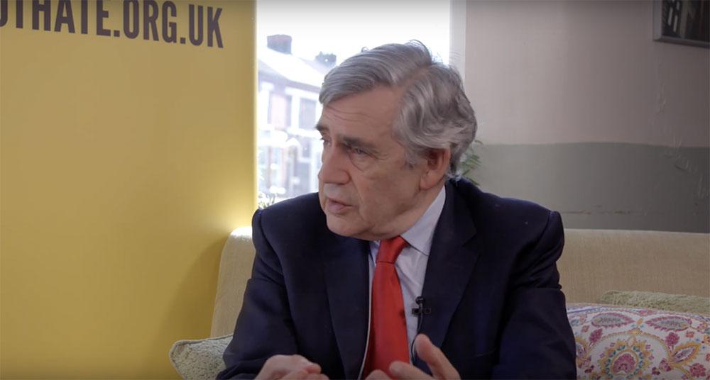 Gordon Brown corporate Interview