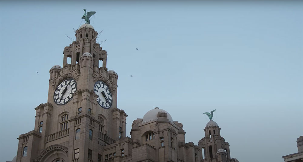 Royal Liver Building Opening