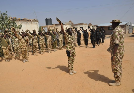 Troops of 159 Battalion Reiterates Loyalty & Commitment to Fight Against Insurgency, Debunks Rumor of Mutinous Disposition