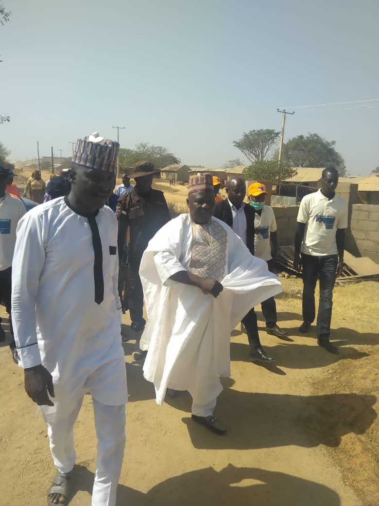 Chief Garba Pwul SAN Commiserates with Kombun Community, attends Mandar Day