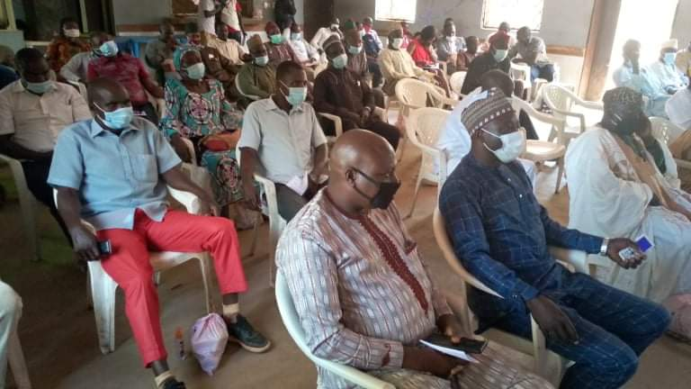 Hon. Timothy Dantong Holds COVID-19 Community Engagement Meeting With Riyom LG Critical Stakeholders