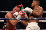 Anthony Joshua knocks out Pulev to retain world heavyweight titles