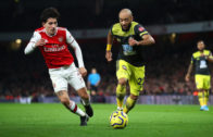 Arsenal crash out of FA Cup