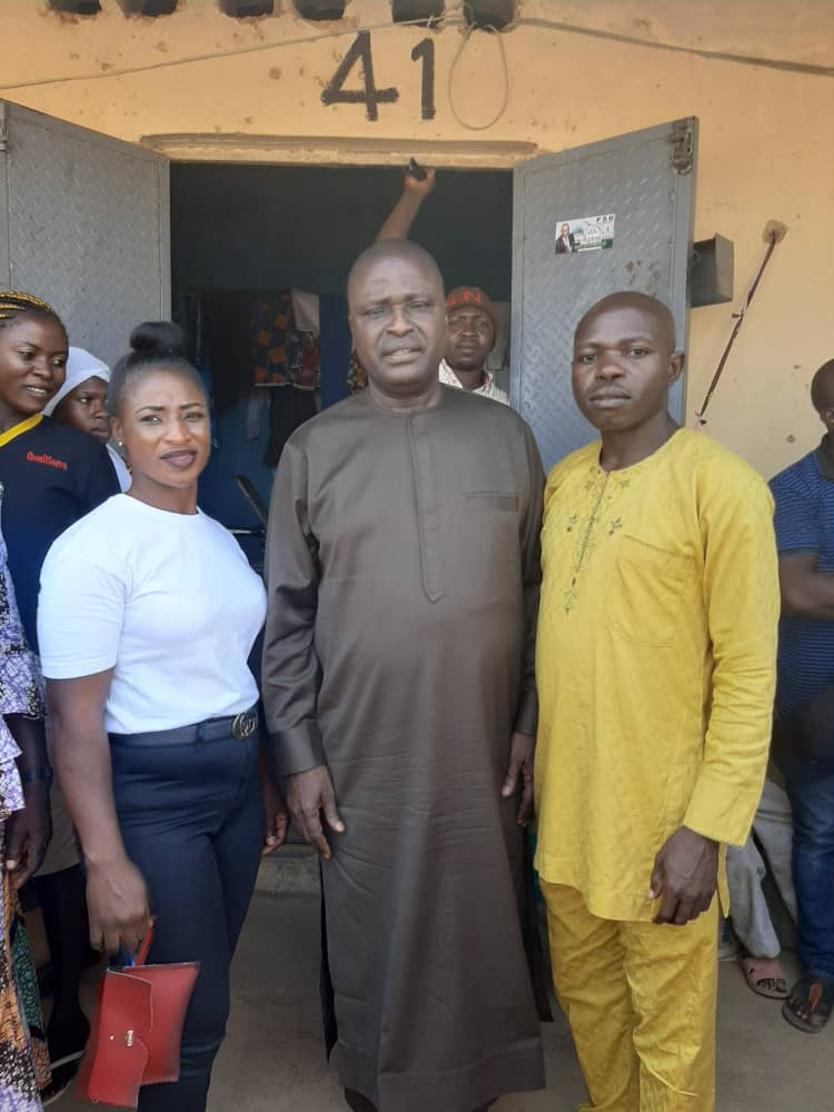 Rep. Simon Mwadkwon Empowers Constituent Tailor and Beauty Saloon Proprietress