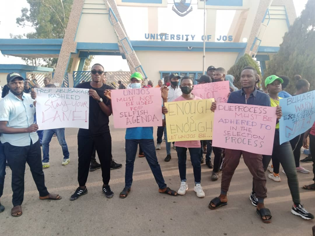 UniJos Staff, Students Urges FG to be Transparent in Selection of VC