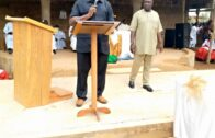 Nigerian Philanthropist Chris Giwa Undertakes Roofing of Catholic Church