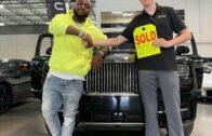 Photos: Davido Buys 2021 Rolls Royce.