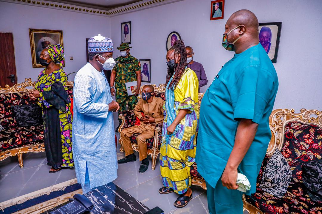 """""""LATE GEN. DOGONYARO ADVISED ME ON SECURITY"""", GOVERNOR LALONG TELLS HIS FAMILY ON CONDOLENCE VISIT"""