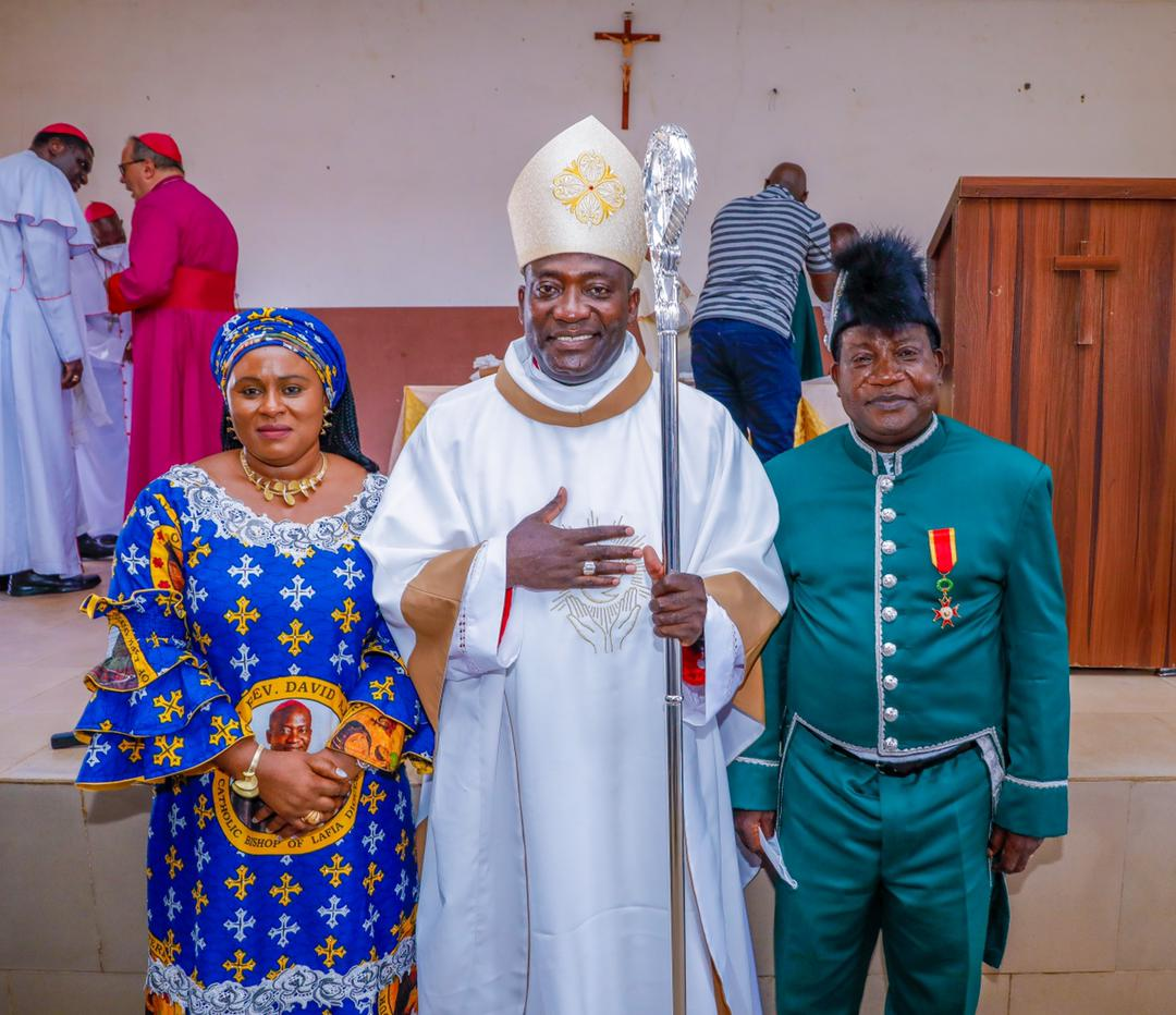 GOVERNOR LALONG CHARGES NEW BISHOP OF LAFIA ON PRAYER FOR NIGERIA