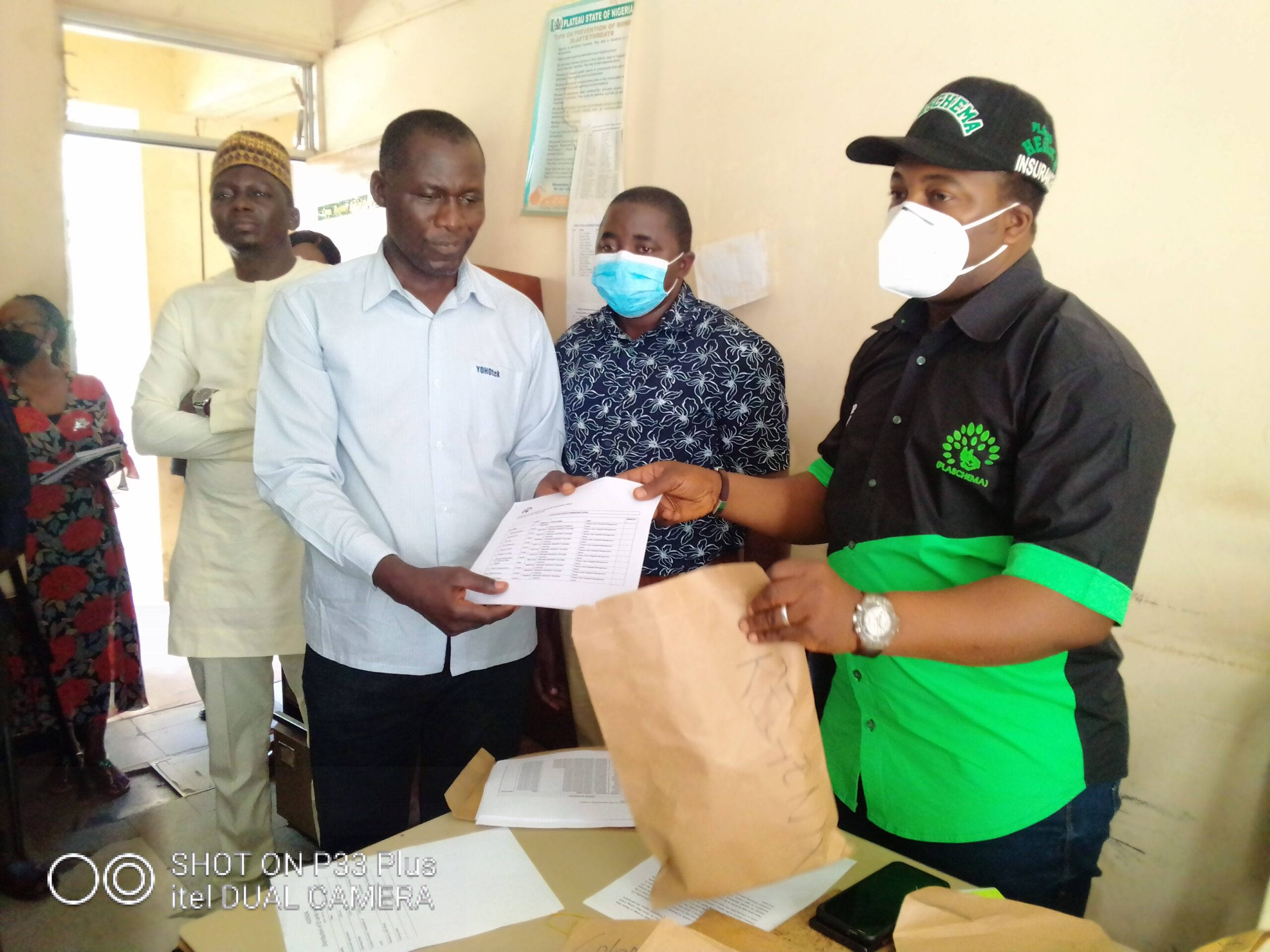 PLASCHEMA Distributes 1,356 Enrollee ID Cards to Civil Servants in the State
