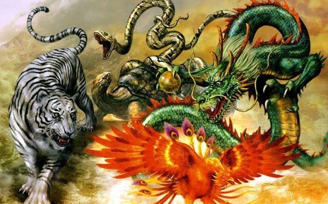 Criaturas mitologicas chinas