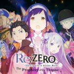 El videojuego sobre Re:Zero presenta un nuevo tráiler